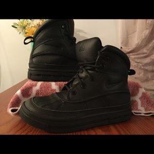 Black Nike ACG Boots